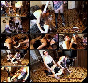 [ScatShop com – Amarotic com] Olga and Svetlana and Yana naughty dog