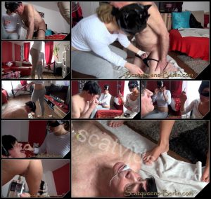 [Scatqueens-Berlin com – Scat-Ladies com] Scatqueens have fun with a Human Toilet P1 [Scat, Piss, Vomit, Spitting, Facesitting, Whipping, Trampling, Femdom, Humiliation, Toilet Slavery]