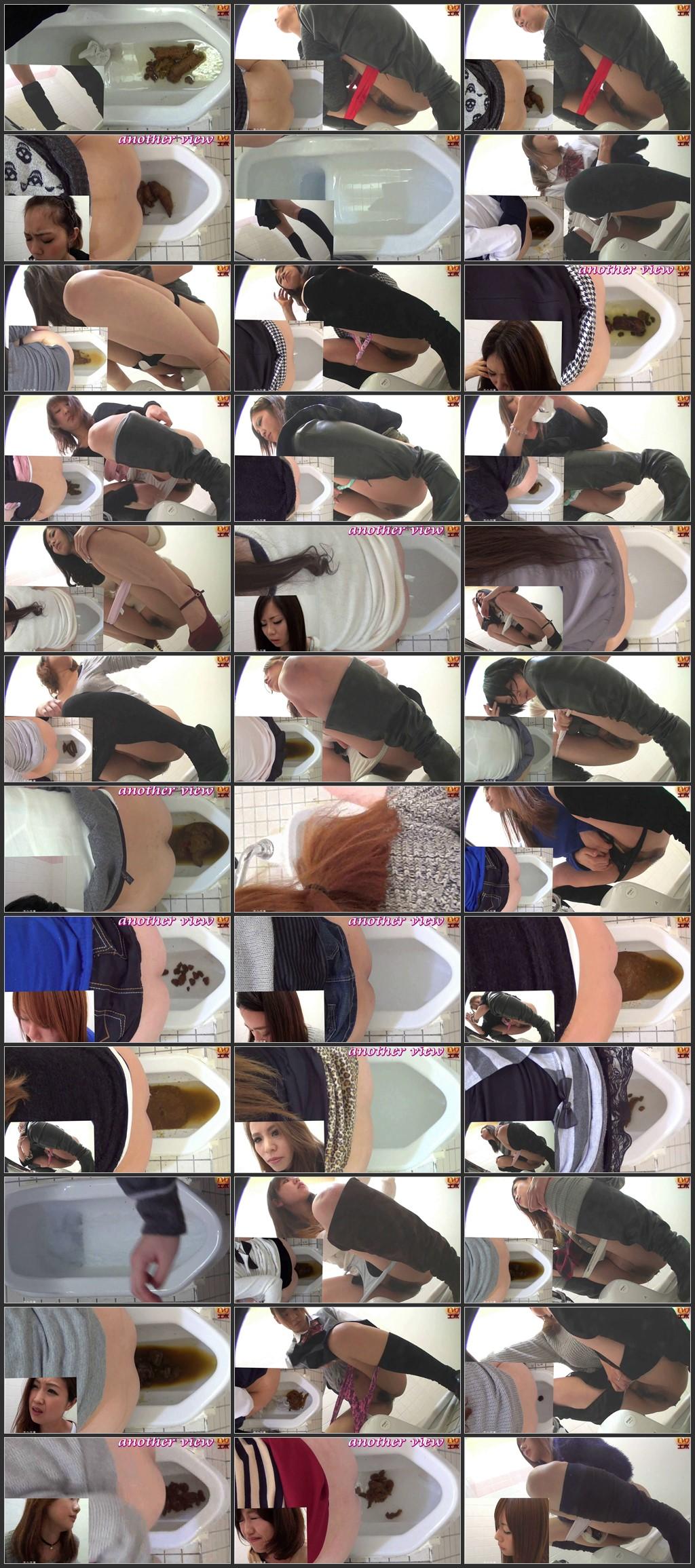 [E28-05] 盗覗3カメトイレ 便器に溜まるウンコ トイレ(盗撮) 盗撮 Scat