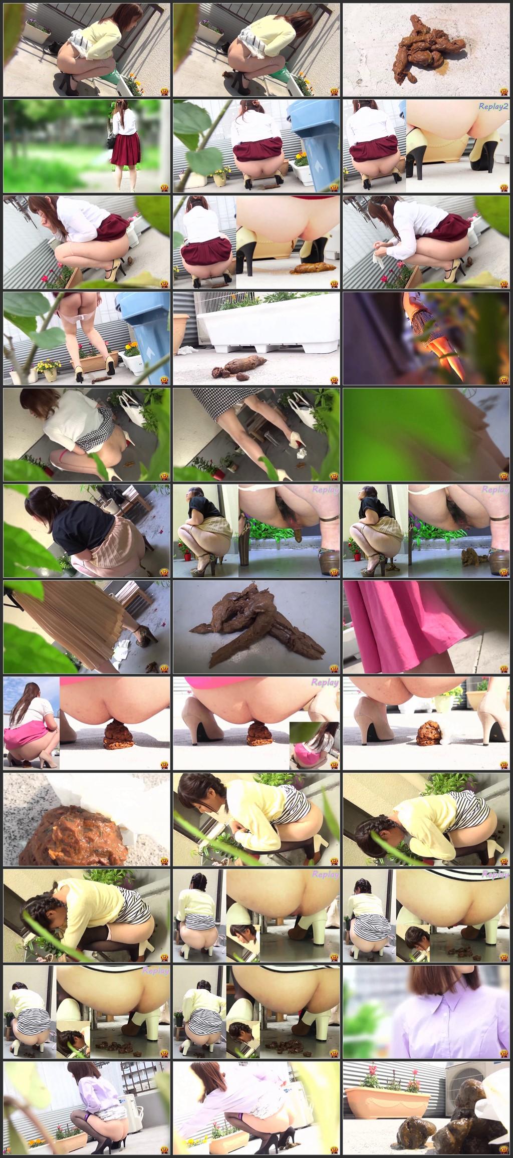 [EE-236] Spring peeping 美人野グソ Defecation Scat