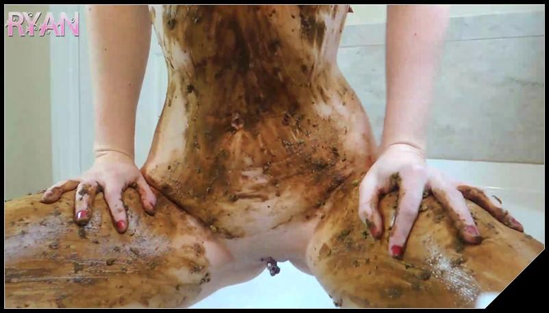 GoddessRyan.com ScatShop.com Goddess Ryan Full Body Extreme Smear in Tub Solo Scat Smearing cover - [GoddessRyan com - ScatShop com] Goddess Ryan - Full Body Extreme Smear in Tub [ Solo, Scat, Smearing]