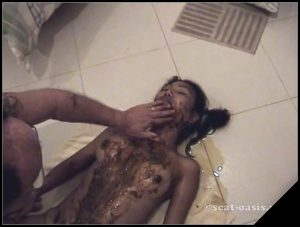 [Scat-Oasis net] Honey Bee hb6 2 [ Scat, Piss, Anal, Piss, Human Toilet, Humiliation, Fetish, Group]