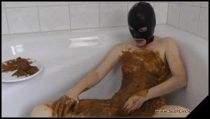 [ScatCircle com] Bathroom Fun [Scat, Pissing, Lesbian] 2