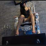 Andrea, be my toilet -Mistress Gaia [Poop Videos, Scat Solo, Toilet Slavery]