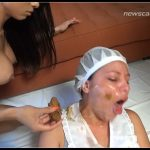 [NewScatInBrazil com - NewMFX com] Rebeca Rios - First Scat Domination  [ Scat, Femdom, Lesbian, Toilet Slavery]