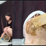 [Poo19 com - ScatShop com] MilanaSmelly -Rapid swallowing of female shit without chewing  [ Scat, Piss, Diarrhea, Domination, Smearing, Eat shit]