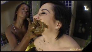 [SG-Video com] Eat My Big Scat Sammy  [ Domination, Lesbian, Eat Scat, Kaviar, Scat Swallow]
