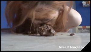 [Scatshop com] SweetBettyParlour – Big Stinky Pile on my Face [ Scat, Shitting, Amateur, Masturbation,  Extreme, Fetish]
