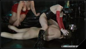 [hightide-video com] The Black Room  [Praying Mantis] [ scat, pee, femdom, fetish, domination]