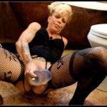 Explosive Enema Prolapse - Juicy Julia  [New Pee, Dirty Milk Enema, pooping girls]