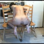 Huge Poop on Chairs - LindzyPoopgirl [Poop Videos, Efro, Big shit pile, new scat solo]