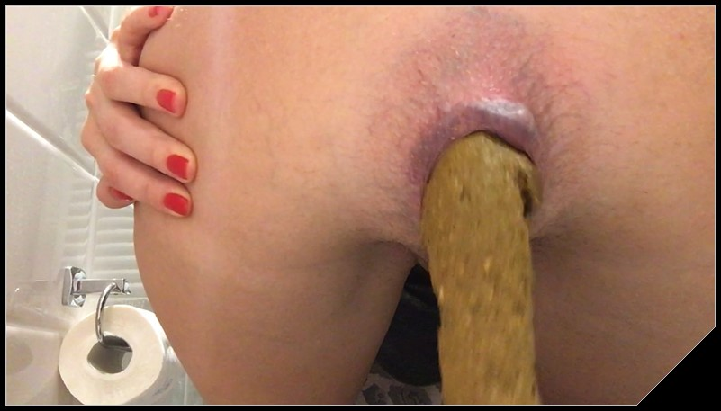 Thick Log EllaGilbert anal with shit  cover - Thick Log- EllaGilbert anal with shit