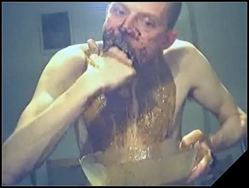 Mature man eating shit - The scat tube