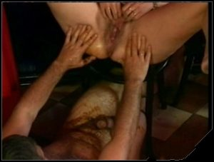 Older Couple Enjoys Scat Play She Shits On Him Then Gives Him A Footjob Before Fucking His Dirty Cock