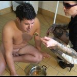 Slaves stable – appropriate slaves meal- scat-movie-world[Toilet Slavery, Domination]