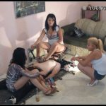 [Young-Dominas com] 2 Girls And Forced Consumption [Scat, Piss, Vomit, Femdom]