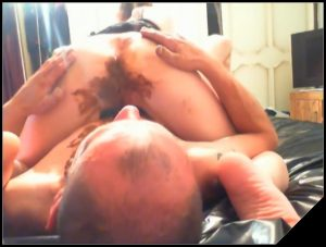 Fist, Fuck Goddess While Eat Her Shit – Toilet slave and dommes[extreme scat, shitting porn]