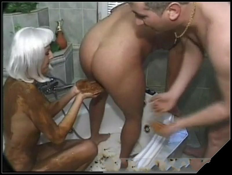 Bathroom enema 02 -Dirtyshack Free Scat Tube Videos.