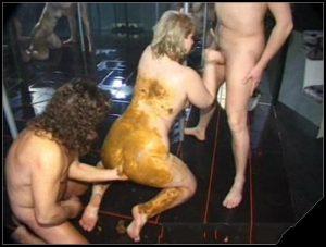 Scat-Bang Scat Orgie Part 1 02 [Scat, shit ,scat sex, shit sex,Groups-Couples,oral sex, Smearing, scat games,lick ass,dirty scat orgies,Smearing]