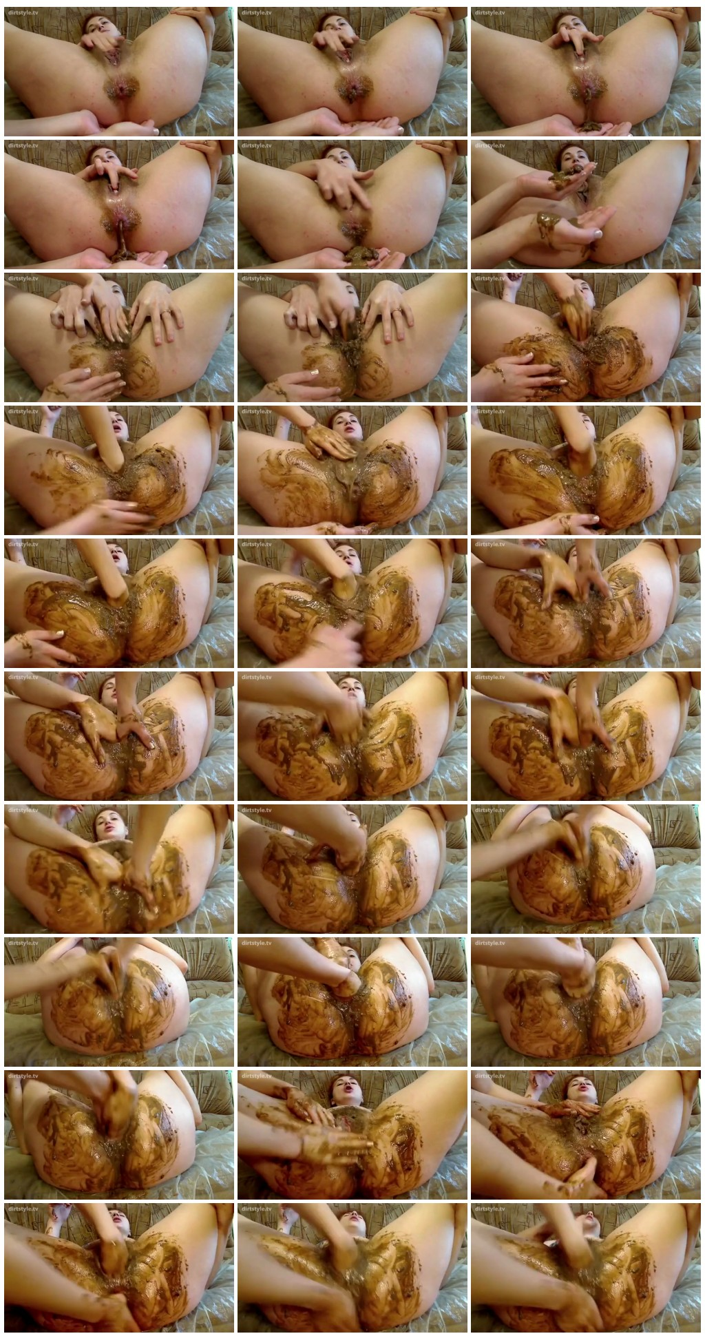 Homemade Scat Video - Lesbian Anal Love 2