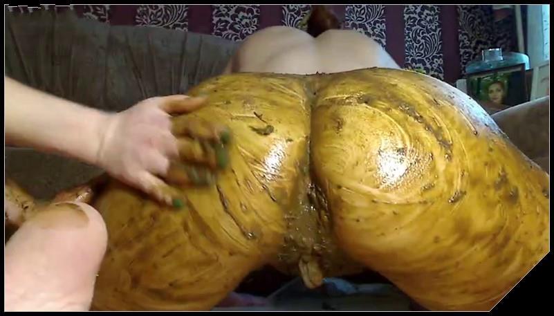 Homemade Scat Video - Lesbian Anal Love 4