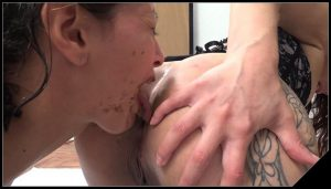 MFX – NewScatInBrazil – MF-5449 – You ll Pay Me Bitch [Scat Lesbians, shit,defecation,Smearing, Groups-Couples,eat shit,masturbation,lick ass,scatting domination,Humiliation]
