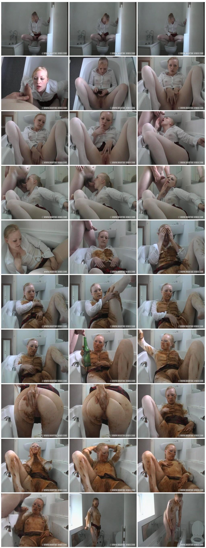 Maisy Van Kamp Dirty Tub Time thumb - Maisy Van Kamp Dirty Tub Time [Scat sex, Groups-Couples,Smearing,oral sex,masturbation]