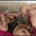 Hightide-Video - Fecal Feast - Susann, Gina [Scat sex, shit sex,groups-couples,smearing,oral sex,masturbation,pissing,lick ass,eat shit ,dirty scat orgies]