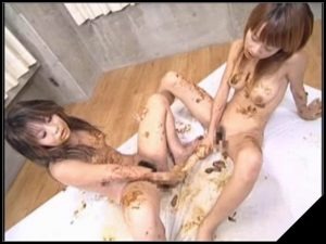 Guso Milk 2[Scat Lesbians, shit,defecation,pissing,smearing,dildo masturbation,lick ass,eat shit]