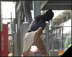 Jade Filth – F15 – Outdoor Invisible Chair Pooping Or Pissing-20 [Scat solo, shit, defecation, pissing, farting]