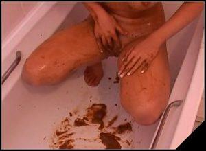Skye Blu tb 48 [Scat, shit, defecation, smearing, masturbation]