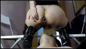 Elenatoilet – Delicious Shit for New Slave [ Scat, Big shit, Facesitting, Eat shit, Domination, Smearing]