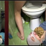 Milanasmelly - erotic toilet slavery 2 [Scat,  shit, defecation , femdom , toilet slavery, Domination ]