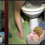 Milanasmelly – erotic toilet slavery 2 [Scat,  shit, defecation , femdom , toilet slavery, Domination ]