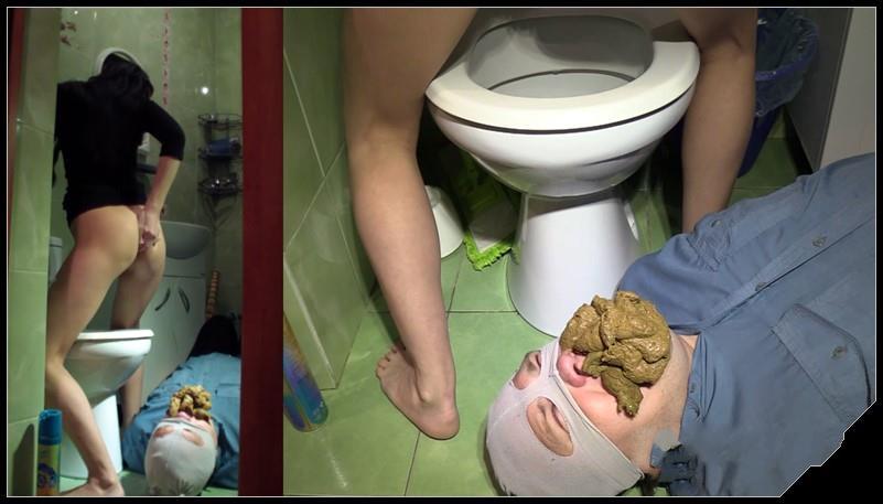 Milanasmelly - erotic toilet slavery 2 [Scat,  shit, defecation ,femdom ,toilet slavery,Domination ]