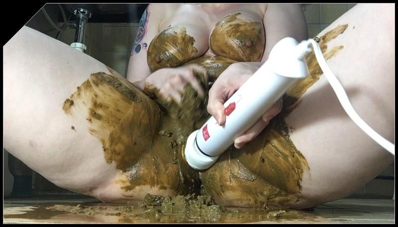 ChubbiBunni Poop Play Masturbation Scat shit defecation pissing Smearing Masturbation Dildo masturbation cover - ChubbiBunni - Poop Play Masturbation [Scat, shit, defecation, pissing, Smearing, Masturbation, Dildo masturbation]