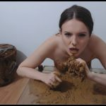 Dianaspark – Playing With My Poop [Scat solo, shit, defecation, Big Shit, Smearing, Masturbation, Eat shit]