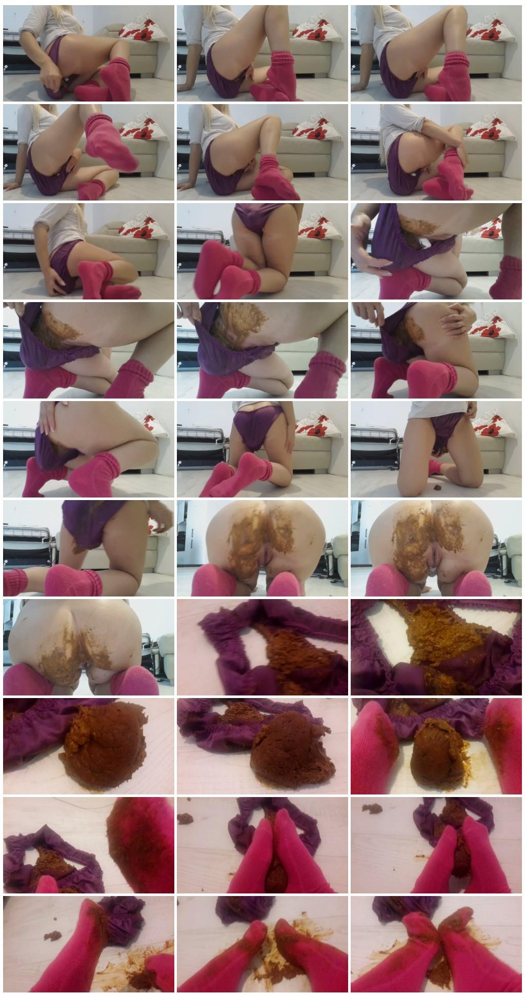 Thefartbabes Goddess Pink Socks Messy Scat solo shit defecation Shitty ass Masturbation Panty pooping Big Shit Smearing thumb - Thefartbabes - Goddess Pink Socks Messy [Scat solo, shit, defecation, Shitty ass, Masturbation, Panty pooping, Big Shit, Smearing]