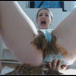 Dianaspark - Shitting My Lace Panties [Scat solo, shit, defecation, Shitty ass, Masturbation, Panty pooping, Big Shit, Smearing, Eat shit]
