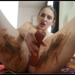 Dianaspark – Squirting and Sensual Dirty Fuck [Scat solo, shit, defecation, Shitty ass, Masturbation, Big Shit, Smearing, Dildo masturbation]