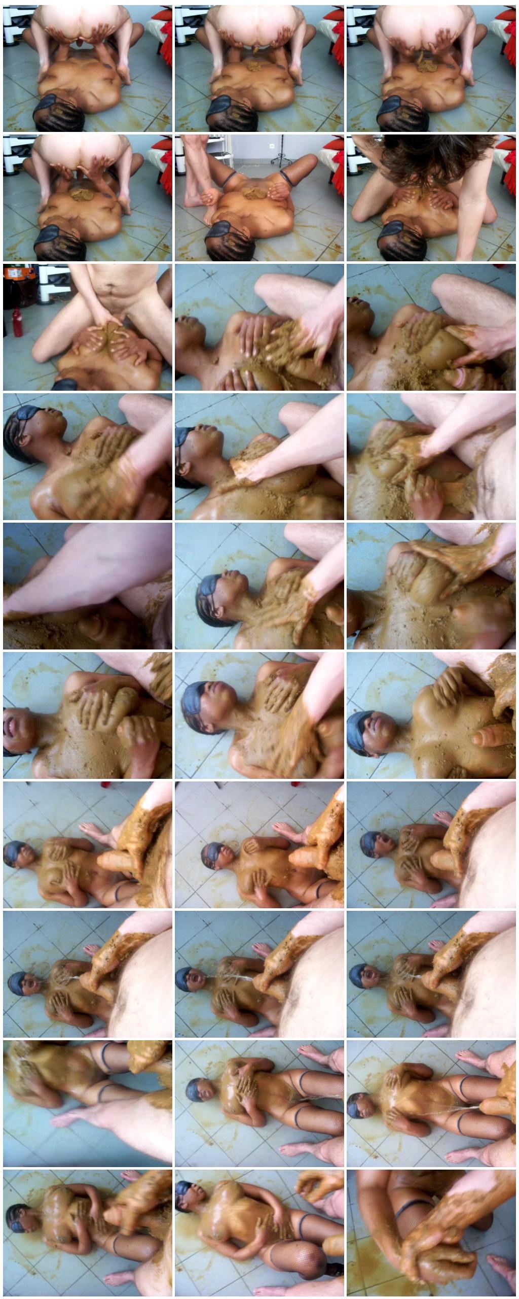 Ebony Scat sex part 2 Scat sex Smearing Oral sex Masturbation pissingToilet SlaveryHandjob Eat shit thumb - Ebony Scat sex part 2-[Scat sex,  Smearing, Oral sex, Masturbation, pissing,Toilet Slavery, Handjob, Eat shit]