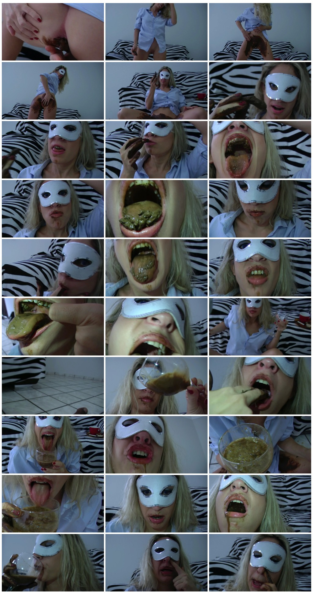 Mina Breakfast of Shit and Vomit. Part 2 Scat solo shit defecation MasturbationEat shit thumb - Mina -Breakfast of Shit and Vomit  Part 2 [Scat solo, shit, defecation, Masturbation,Eat shit]