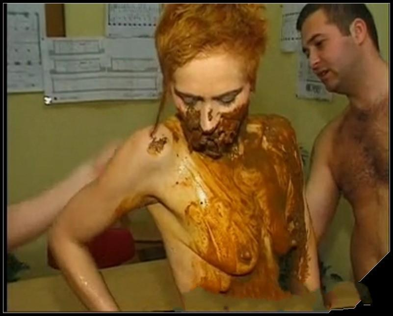 Red head covered in shit Part 2 Scat sex Smearing Masturbation pissingToilet Slavery Eat shit cover - Red head covered in shit Part 2 -[Scat sex,  Smearing, Masturbation, pissing,Toilet Slavery, Eat shit]