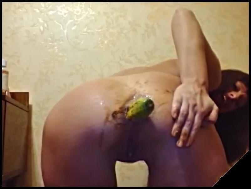 Dirty scat webcam -[Scat solo, shit, defecation,Big Shit, Smearing, Masturbation,Dildo masturbation, Eat shit]