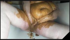 Geile sau  2 -[Scat, shit, defecation, pissing, Smearing, Masturbation, Dildo masturbation]