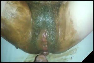Scat Fuck Smearing – [Scat sex, Smearing, Masturbation, pissing, Fisting]
