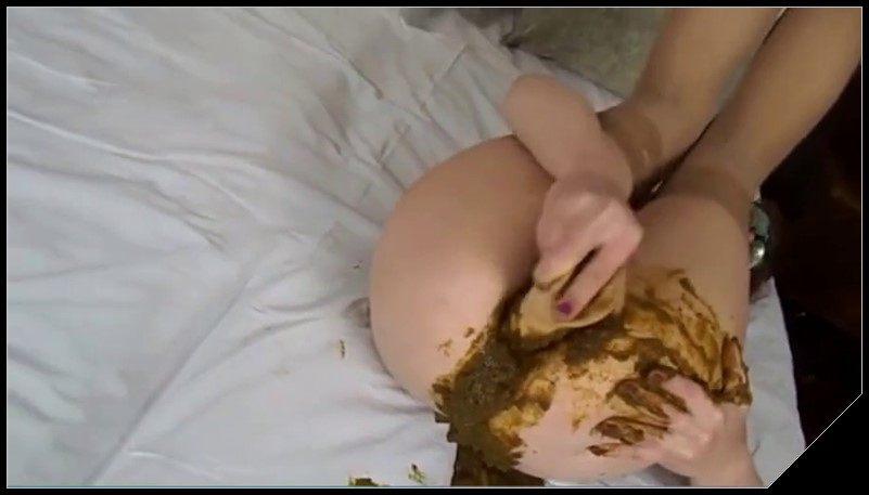 Sexy anal scat whore playing with her dildo Scat solo shit defecation Big ShitDirty Ass Dildo masturbation cover - Sexy anal scat whore playing with her dildo - [Scat solo, shit, defecation, Big Shit, Dirty Ass,  Dildo masturbation]