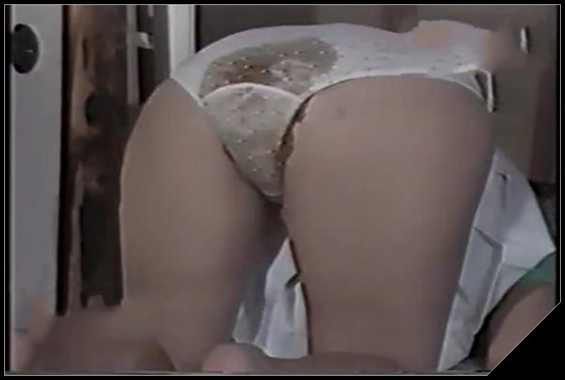 Big pile of shit - [Scat solo, shit, defecation, Dirty Ass, Masturbation, Panty pooping, Big Shit]