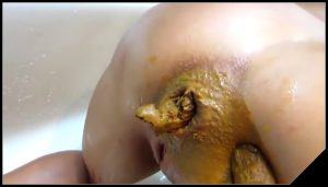 Scat fuck – video 19 – [Scat sex, shit sex, Smearing, Masturbation, Fisting]
