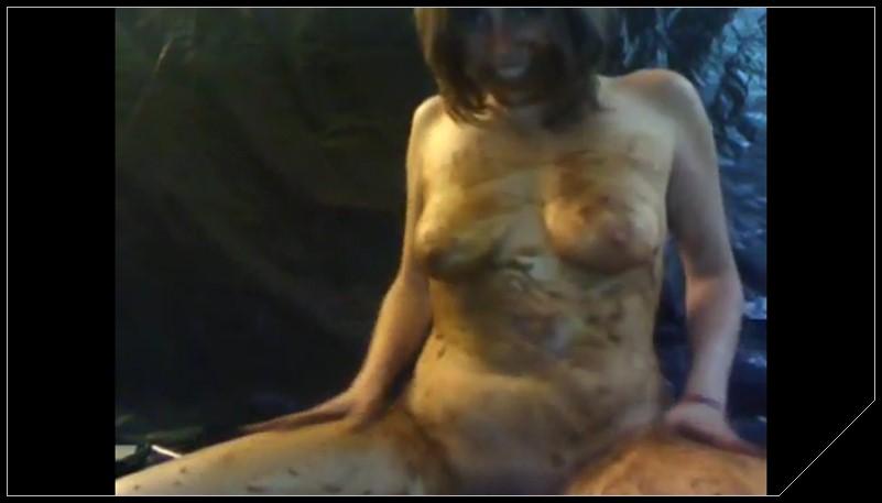 Scat smearing [Scat solo, shit, defecation, Pissing, Big Shit, Dirty Ass, Smearing, Masturbation, Dildo masturbation, Eat shit]